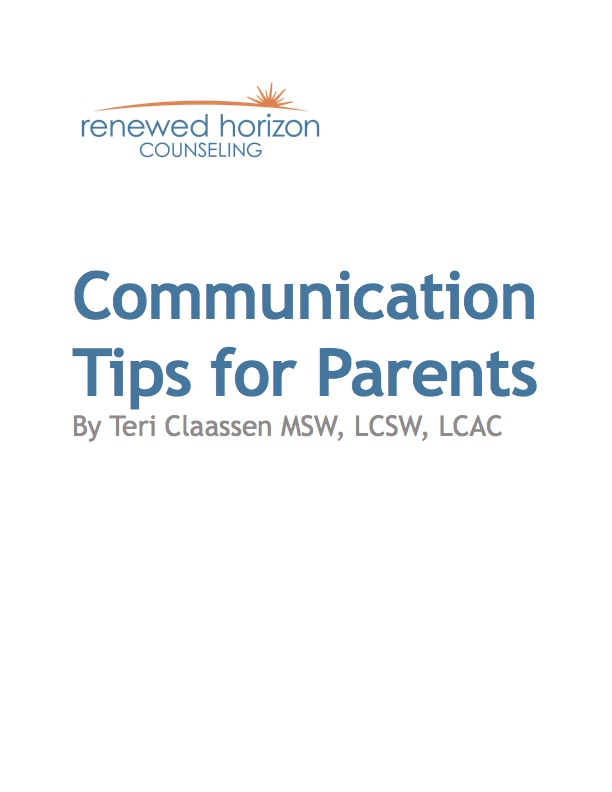 Communication Tips for Parents