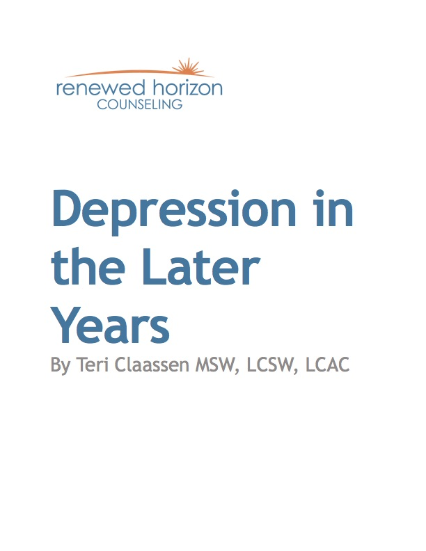 Depression in the Later Years