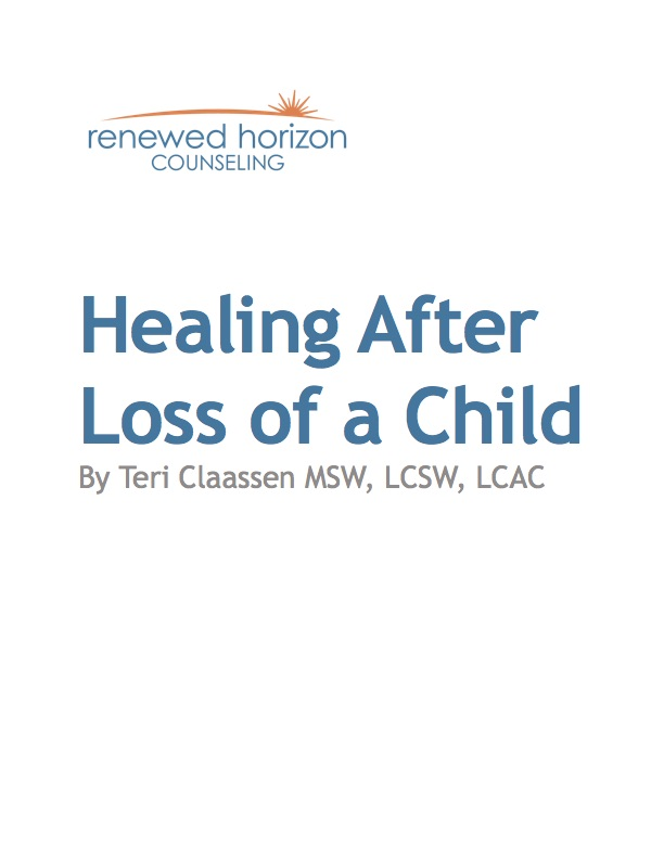 Healing after the Loss of a Child