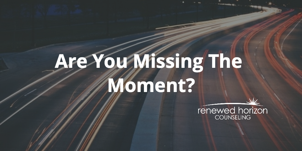 Are You Missing The Moment?
