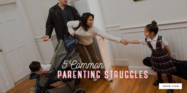 5 Common Parenting Struggles