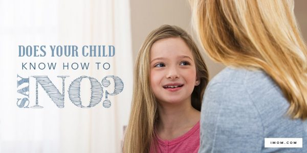 Does Your Child Know How to Say No?
