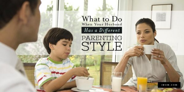 What to Do When Your Husband Has a Different Parenting Style