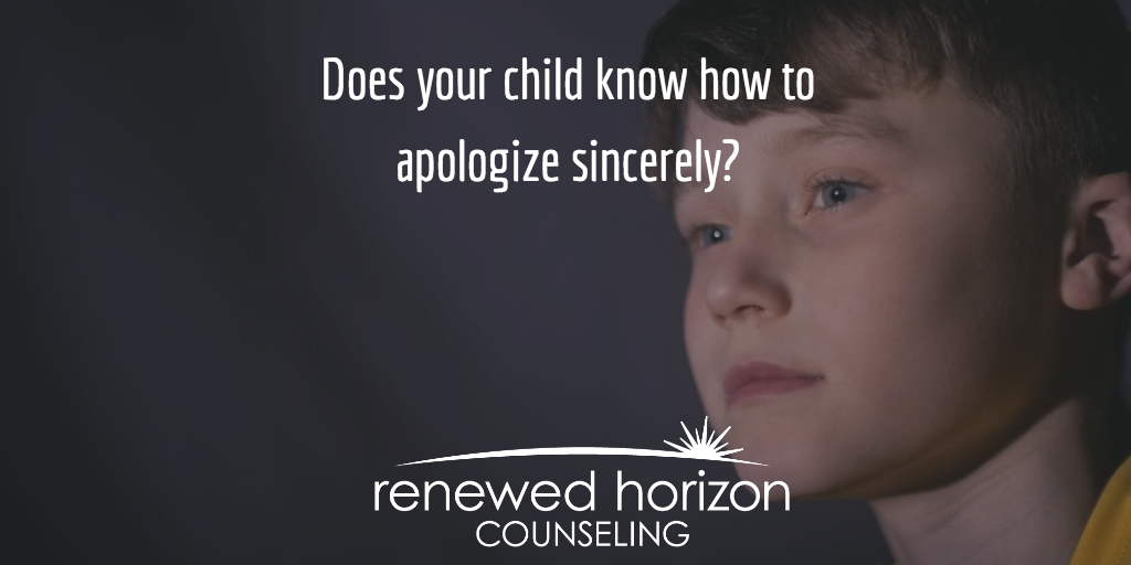 Tips for a Sincere Apology