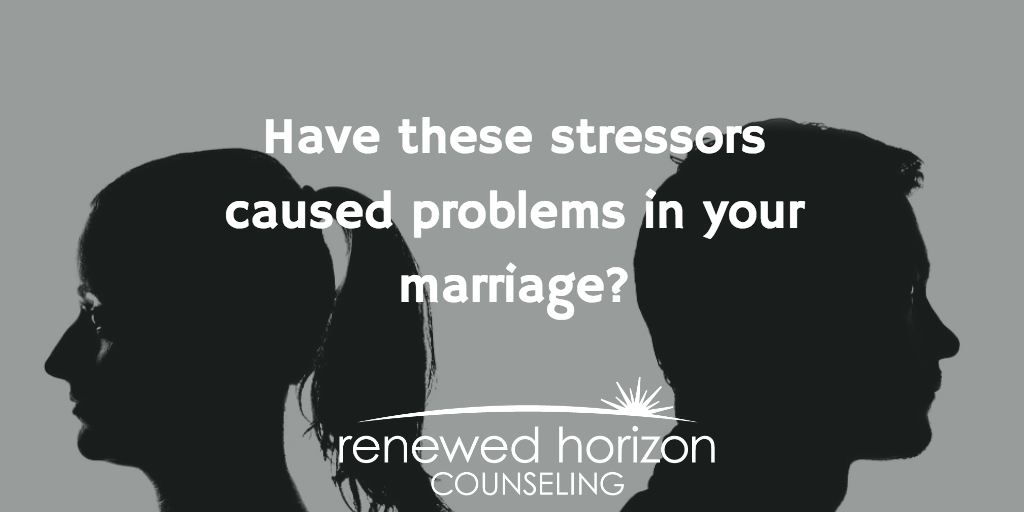 Top Stressors that lead to Marital Problems