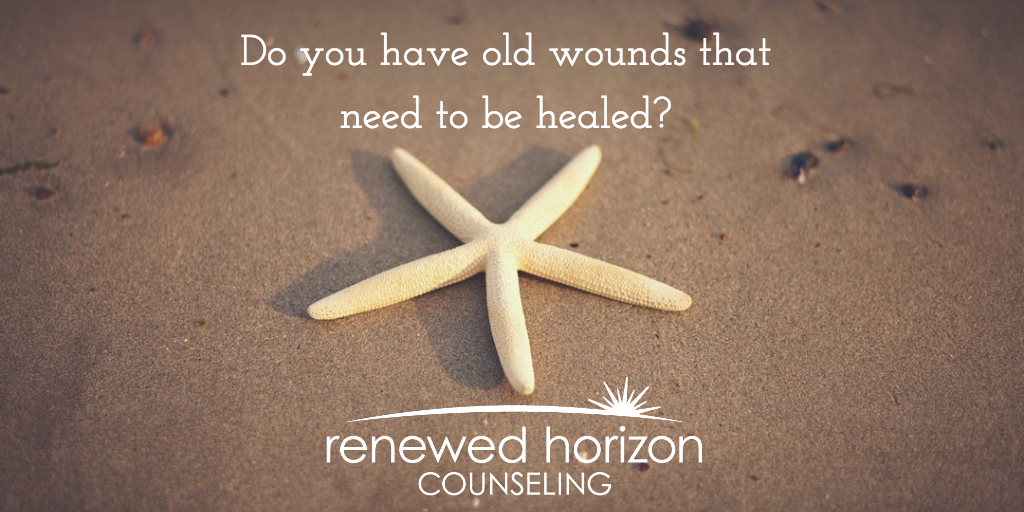 Healing Old Wounds like A Starfish