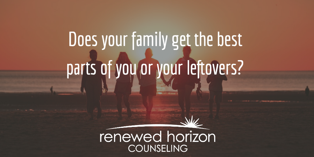 Does Your Family Get Your Leftovers?