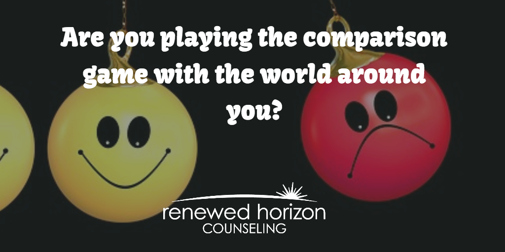 Are You Playing The Comparison Game?