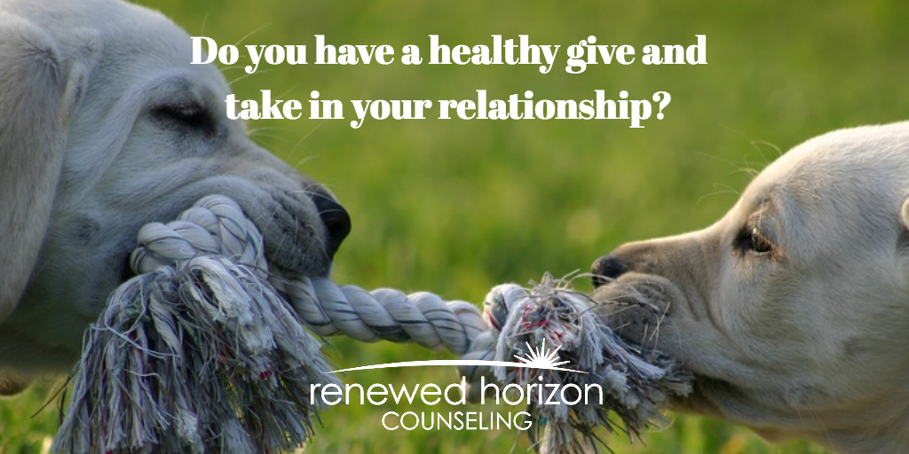 Give and take in healthy relationships