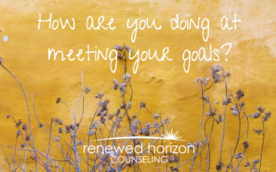 Are you meeting your goals?