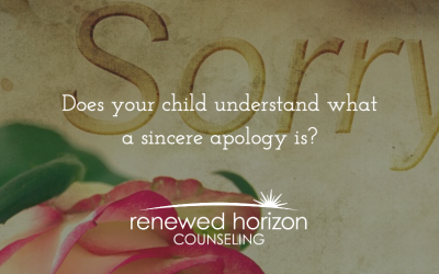 What is a sincere apology?