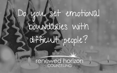 Emotional boundaries during the holidays