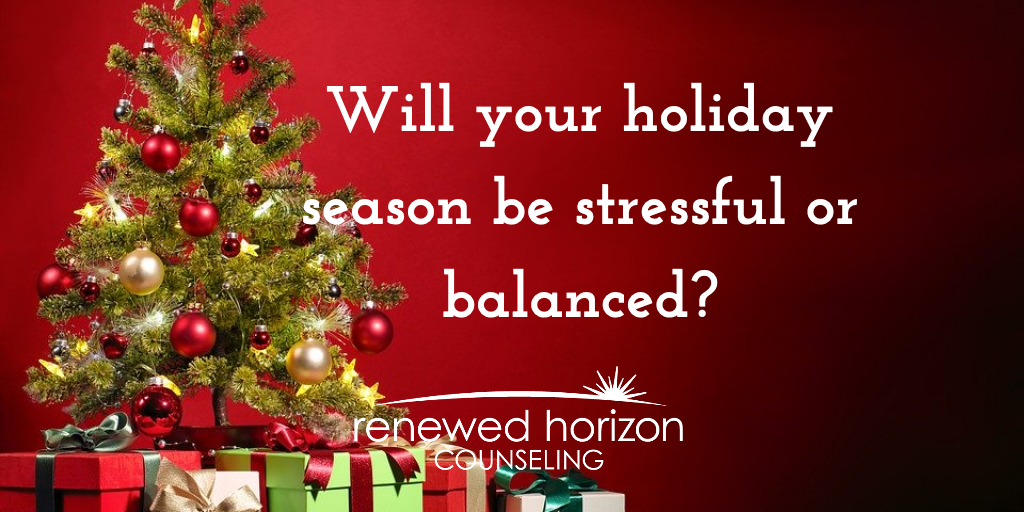 Stay balanced this holiday season