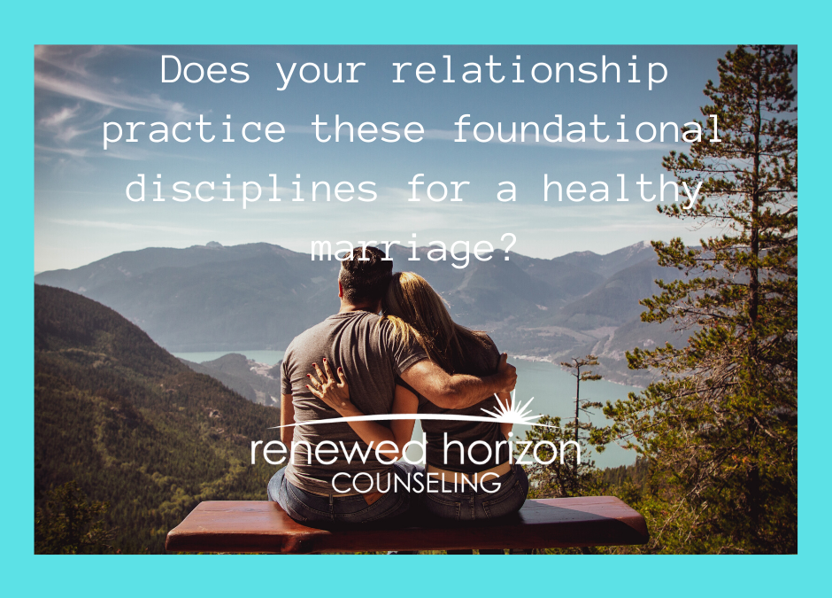 4 T's that are important for a healthy marriage