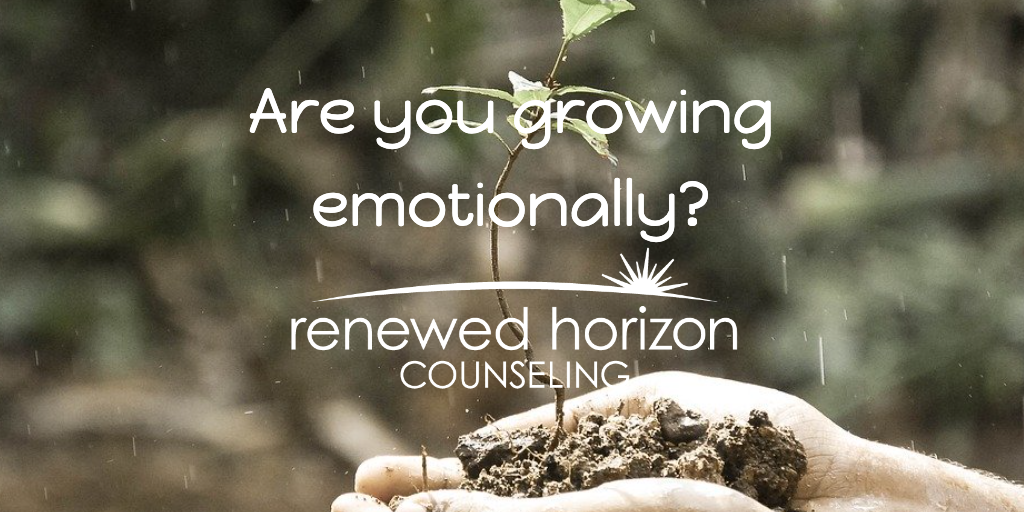Do you see emotional growth?