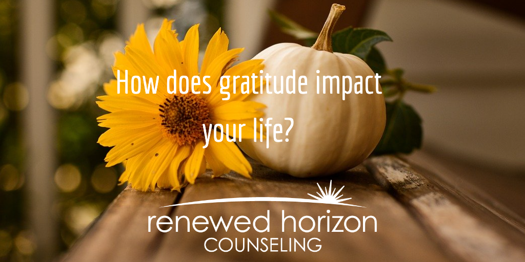 Impacts of gratitude on your life