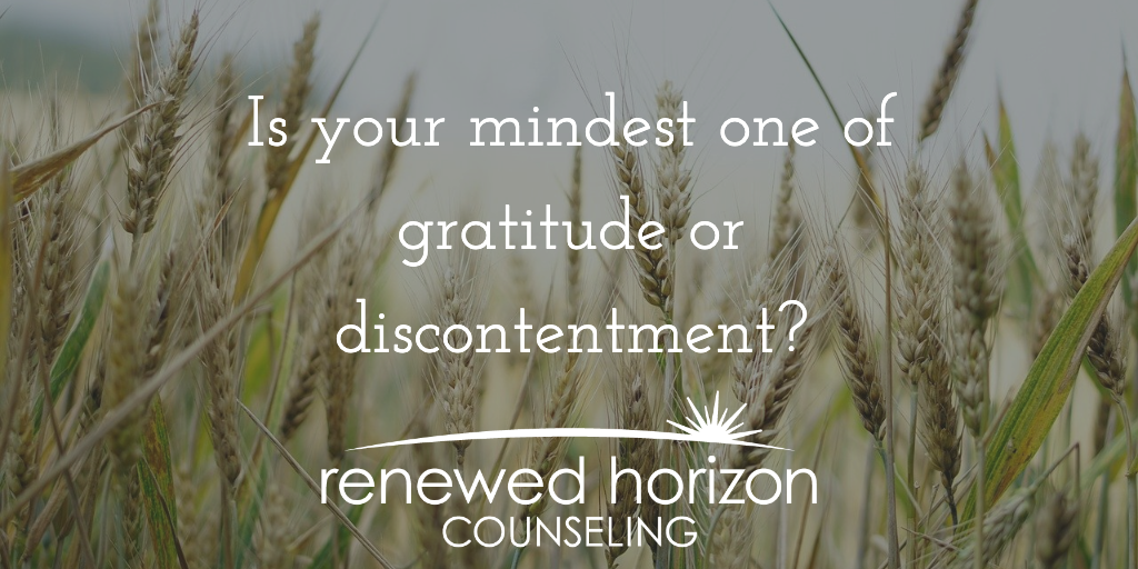 A mindset of thankfulness
