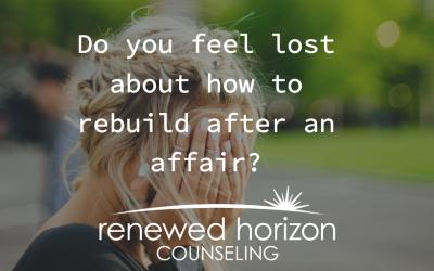 Rebuild a marriage after an affair