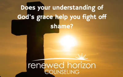 Fight off shame with the love of Jesus