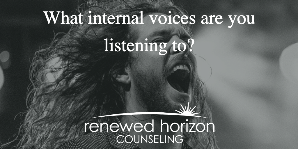 Are we listening to the voices in our heads?