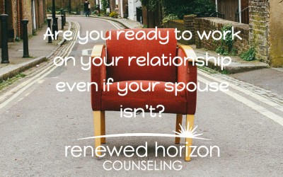 What if my spouse won't come to therapy?