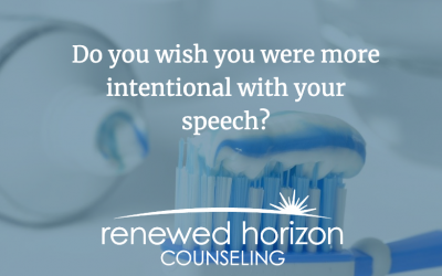 Be intentional with your words