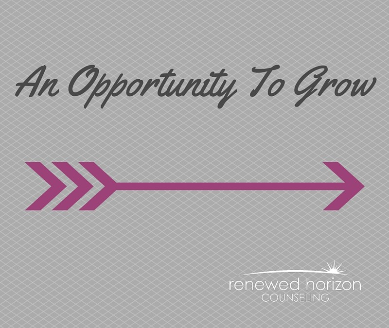 An Opportunity To Grow