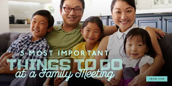 5 Most Important Things to Do at a Family Meeting