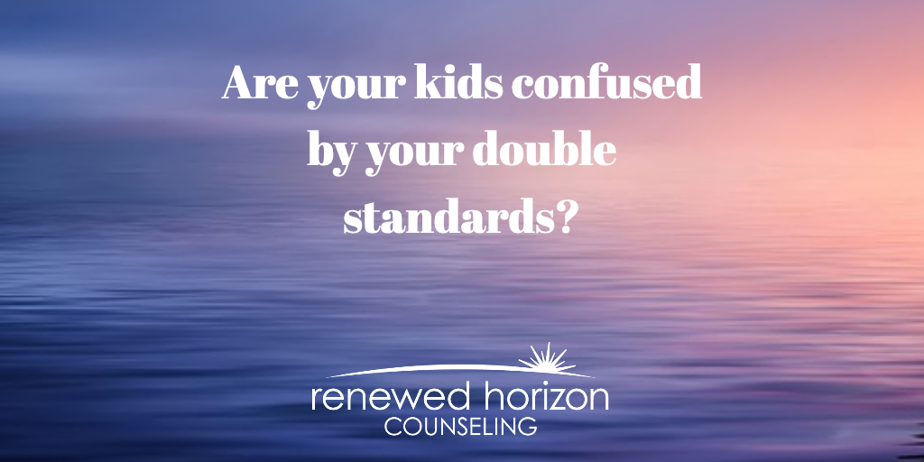 Double standards in parenting