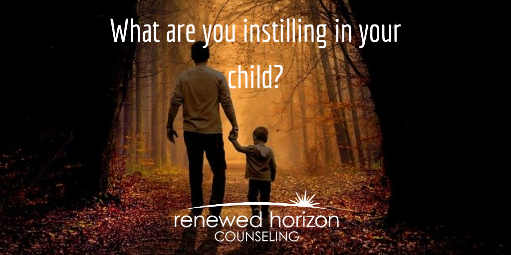 Instilling character in your kids