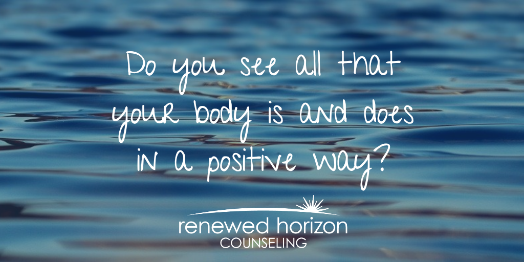 Do you need a new perspective on your body image?