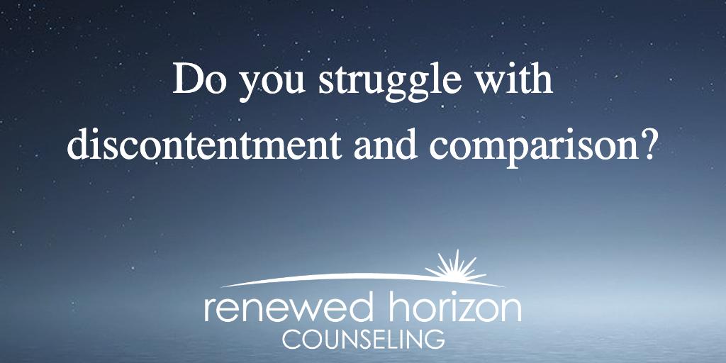 Are you stuck in a comparison trap?