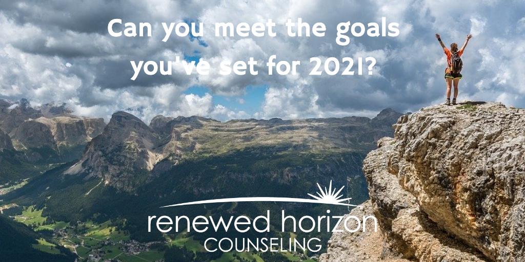 How to meet your goals in 2021