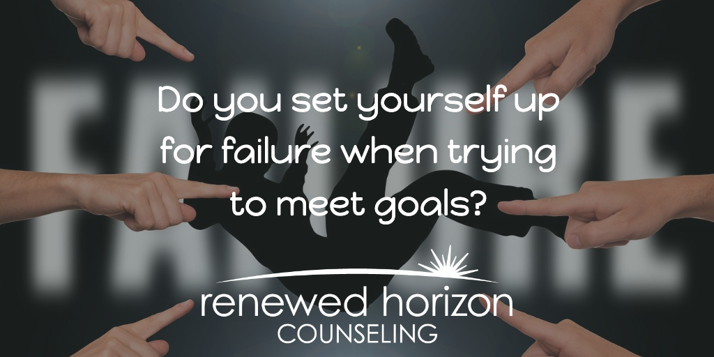 Setting yourself up for failure with self-sabotage