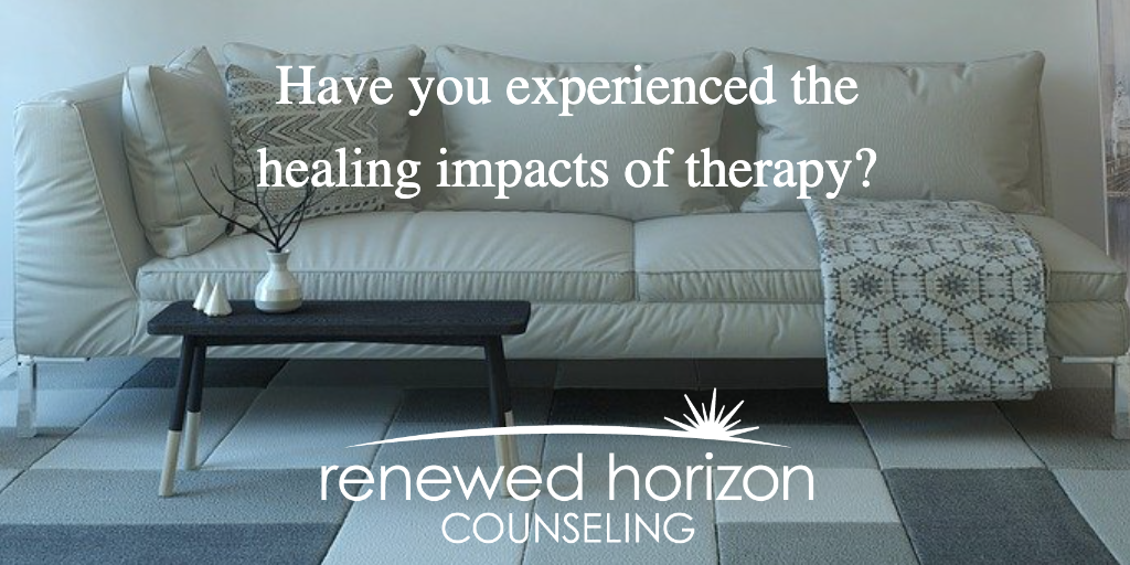 Healing impacts of therapy